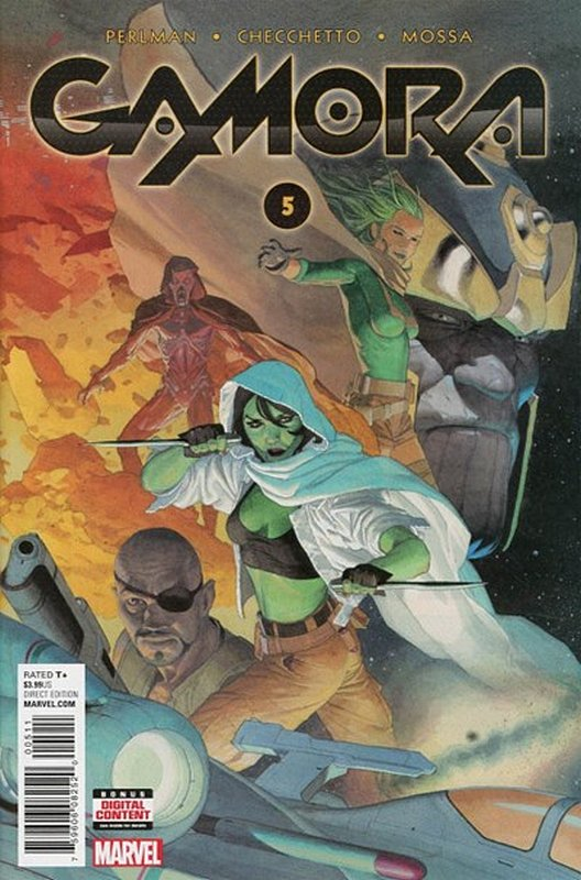 Cover of Gamora (Vol 1) #5. One of 250,000 Vintage American Comics on sale from Krypton!