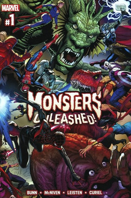 Cover of Monsters Unleashed (2017 Ltd) #1. One of 250,000 Vintage American Comics on sale from Krypton!