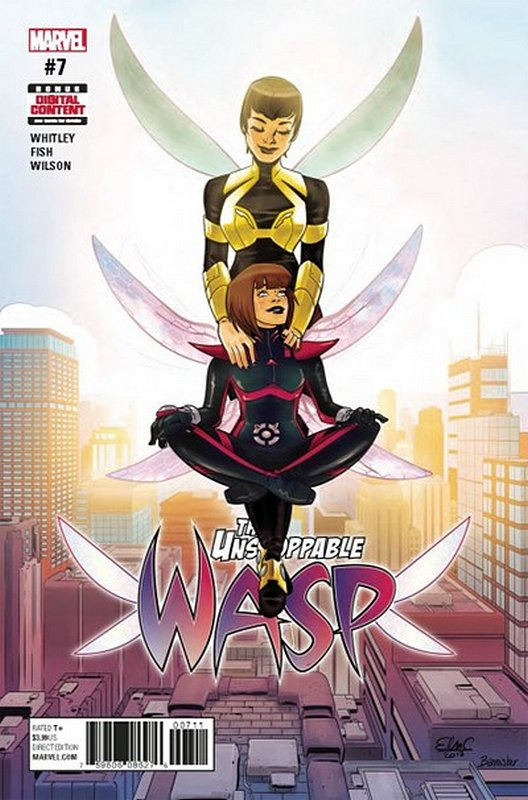 Cover of Unstoppable Wasp (Vol 1) #7. One of 250,000 Vintage American Comics on sale from Krypton!