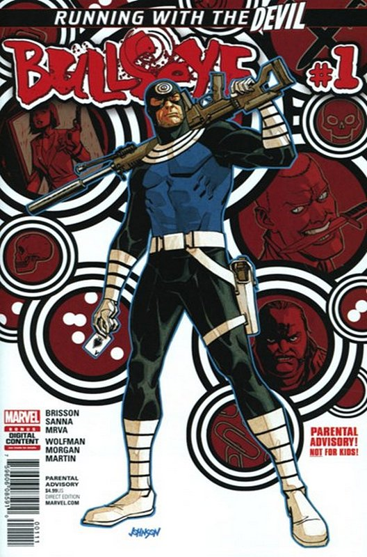 Cover of Bullseye (2017 Ltd) #1. One of 250,000 Vintage American Comics on sale from Krypton!