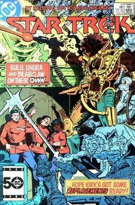 Cover of Star Trek (Vol 1) (DC) #17. One of 250,000 Vintage American Comics on sale from Krypton!