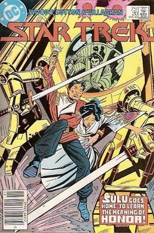 Cover of Star Trek (Vol 1) (DC) #20. One of 250,000 Vintage American Comics on sale from Krypton!