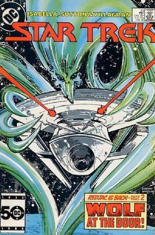 Cover of Star Trek (Vol 1) (DC) #23. One of 250,000 Vintage American Comics on sale from Krypton!