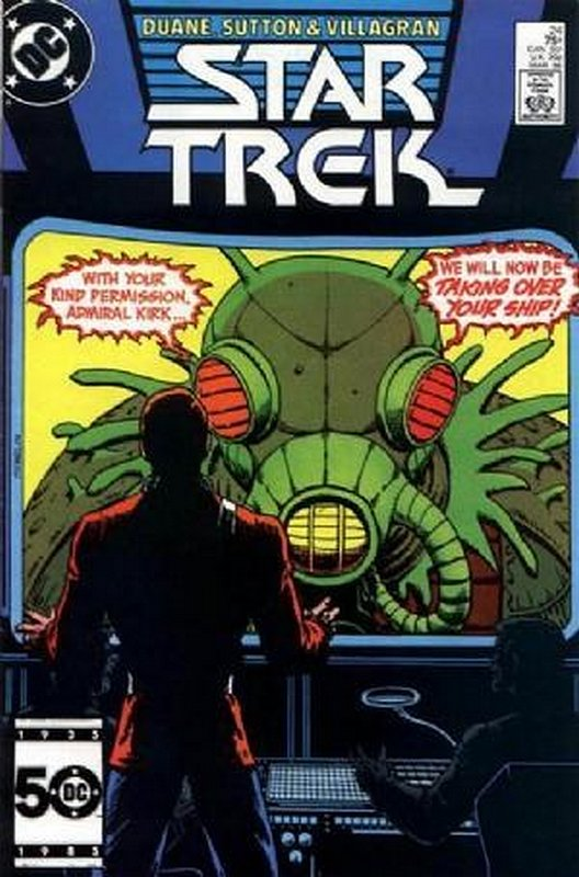 Cover of Star Trek (Vol 1) (DC) #24. One of 250,000 Vintage American Comics on sale from Krypton!