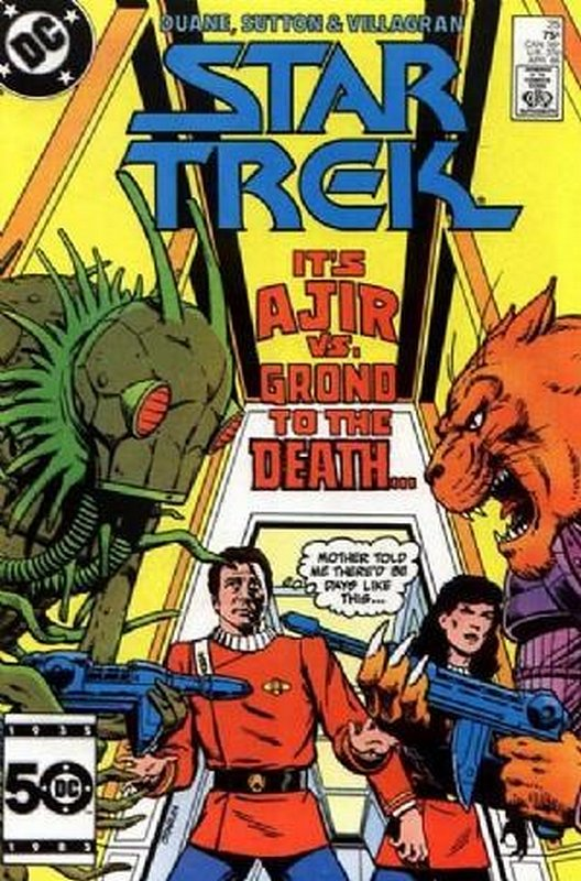 Cover of Star Trek (Vol 1) (DC) #25. One of 250,000 Vintage American Comics on sale from Krypton!