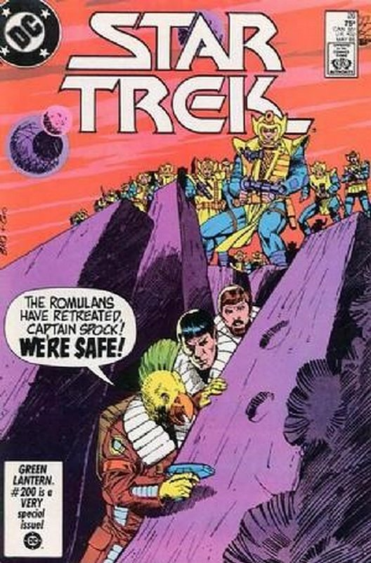 Cover of Star Trek (Vol 1) (DC) #26. One of 250,000 Vintage American Comics on sale from Krypton!