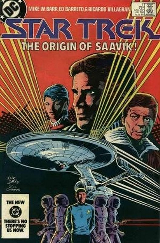 Cover of Star Trek (Vol 1) (DC) #7. One of 250,000 Vintage American Comics on sale from Krypton!