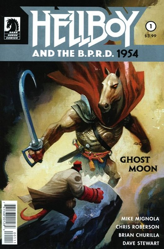 Cover of Hellboy & BPRD: 1954 Ghost Moon (2017 Ltd) #1. One of 250,000 Vintage American Comics on sale from Krypton!