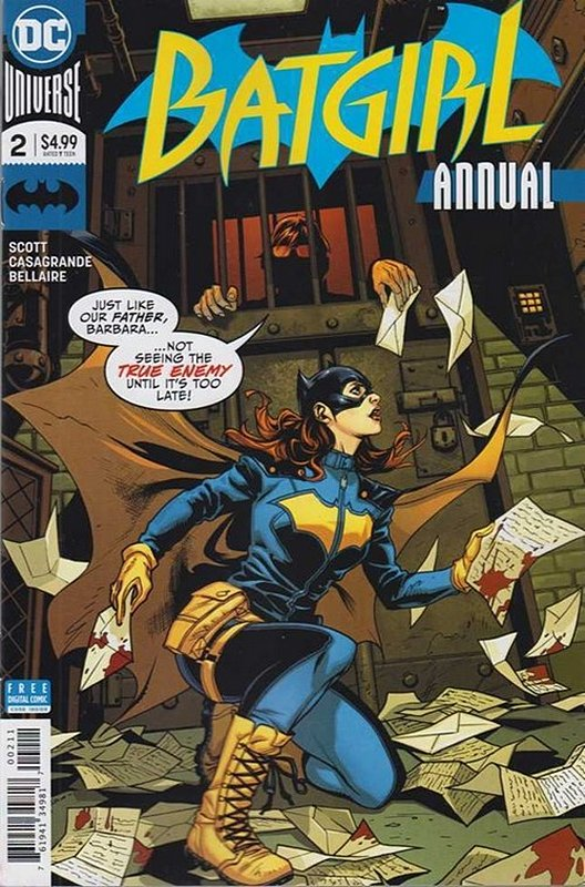 Cover of Batgirl Annual (2017) #2. One of 250,000 Vintage American Comics on sale from Krypton!