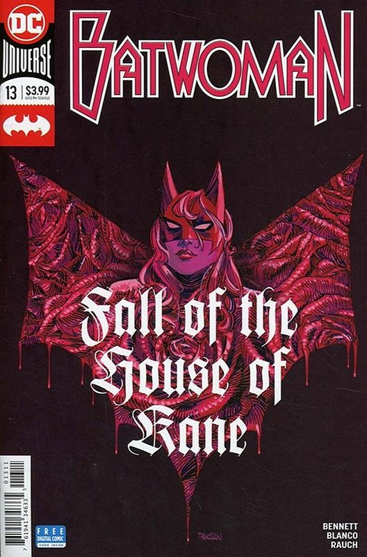 Cover of Batwoman (Vol 2) #13. One of 250,000 Vintage American Comics on sale from Krypton!