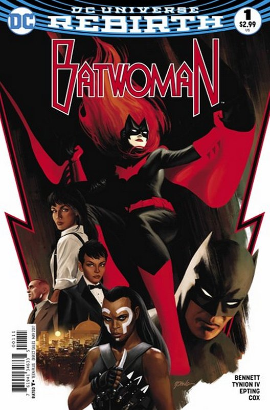 Cover of Batwoman (Vol 2) #1. One of 250,000 Vintage American Comics on sale from Krypton!