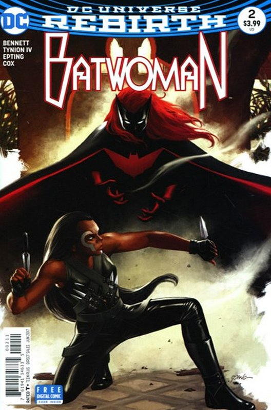 Cover of Batwoman (Vol 2) #2. One of 250,000 Vintage American Comics on sale from Krypton!