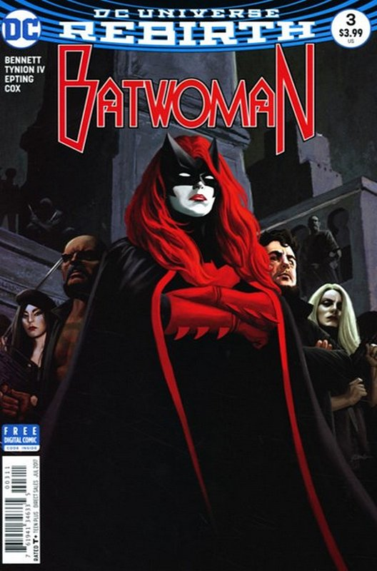 Cover of Batwoman (Vol 2) #3. One of 250,000 Vintage American Comics on sale from Krypton!