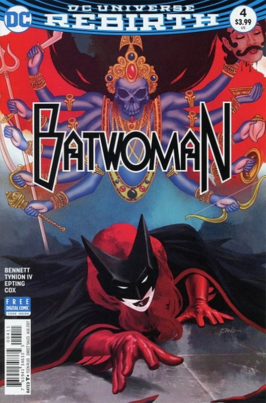 Cover of Batwoman (Vol 2) #4. One of 250,000 Vintage American Comics on sale from Krypton!