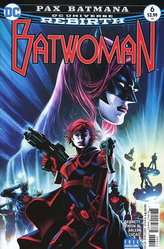 Cover of Batwoman (Vol 2) #6. One of 250,000 Vintage American Comics on sale from Krypton!