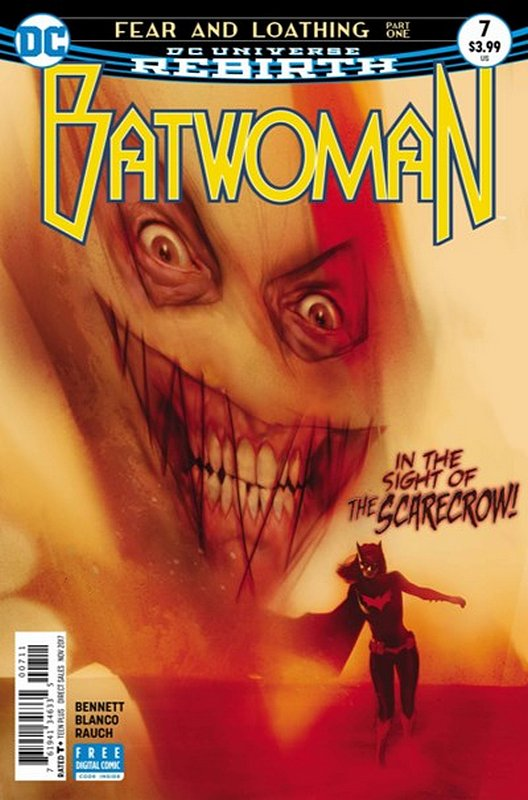 Cover of Batwoman (Vol 2) #7. One of 250,000 Vintage American Comics on sale from Krypton!