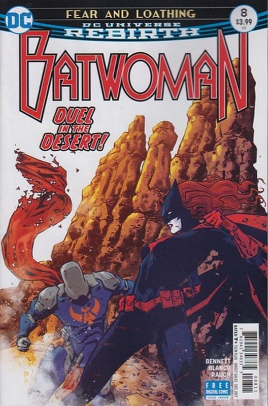 Cover of Batwoman (Vol 2) #8. One of 250,000 Vintage American Comics on sale from Krypton!