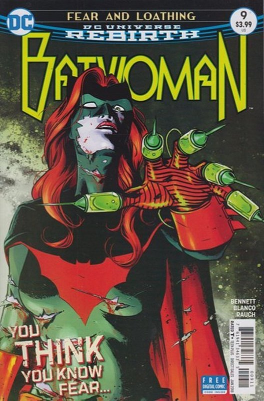 Cover of Batwoman (Vol 2) #9. One of 250,000 Vintage American Comics on sale from Krypton!