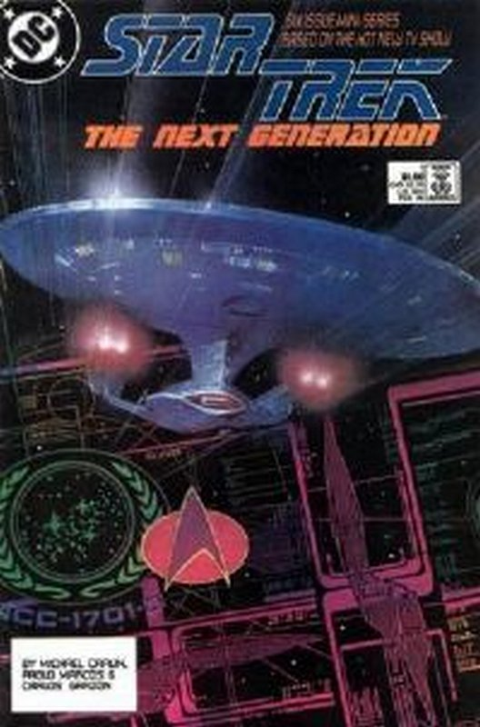 Cover of Star Trek: The Next Generation (1988 Ltd) #1. One of 250,000 Vintage American Comics on sale from Krypton!