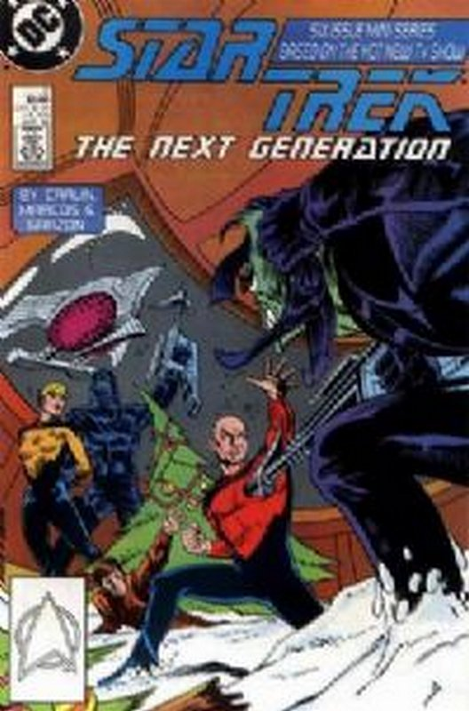 Cover of Star Trek: The Next Generation (1988 Ltd) #2. One of 250,000 Vintage American Comics on sale from Krypton!