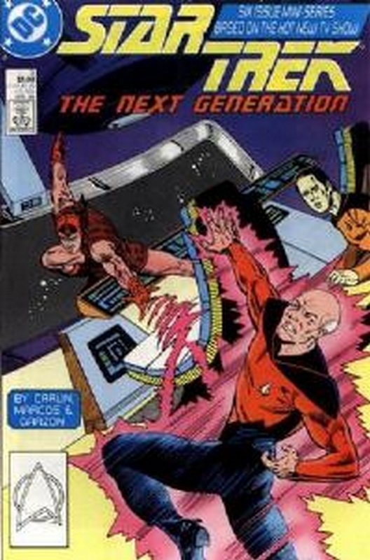 Cover of Star Trek: The Next Generation (1988 Ltd) #3. One of 250,000 Vintage American Comics on sale from Krypton!