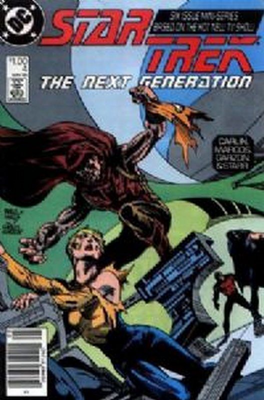 Cover of Star Trek: The Next Generation (1988 Ltd) #4. One of 250,000 Vintage American Comics on sale from Krypton!