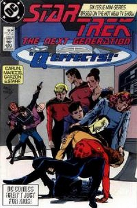Cover of Star Trek: The Next Generation (1988 Ltd) #5. One of 250,000 Vintage American Comics on sale from Krypton!