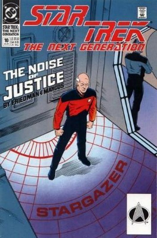 Cover of Star Trek: The Next Generation (Vol 2) #10. One of 250,000 Vintage American Comics on sale from Krypton!
