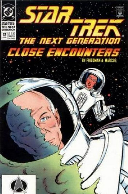 Cover of Star Trek: The Next Generation (Vol 2) #12. One of 250,000 Vintage American Comics on sale from Krypton!