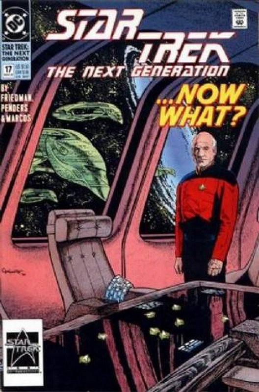Cover of Star Trek: The Next Generation (Vol 2) #17. One of 250,000 Vintage American Comics on sale from Krypton!