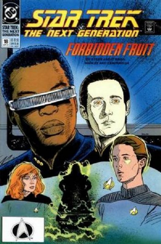 Cover of Star Trek: The Next Generation (Vol 2) #18. One of 250,000 Vintage American Comics on sale from Krypton!