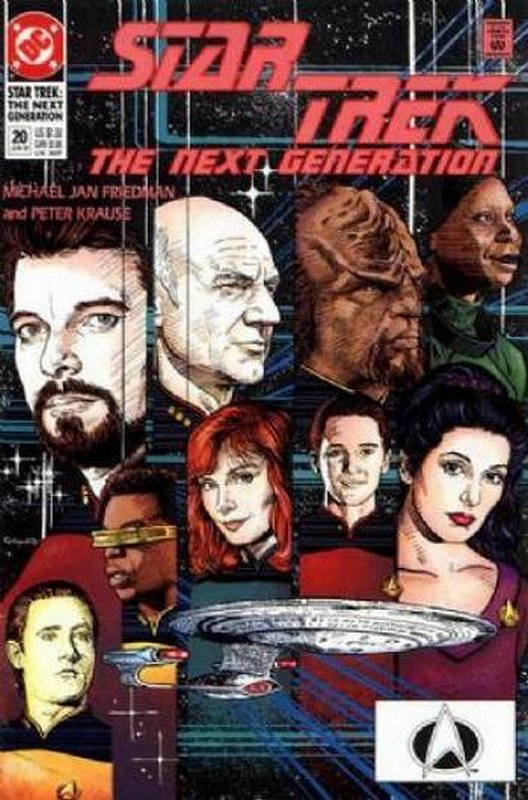 Cover of Star Trek: The Next Generation (Vol 2) #20. One of 250,000 Vintage American Comics on sale from Krypton!