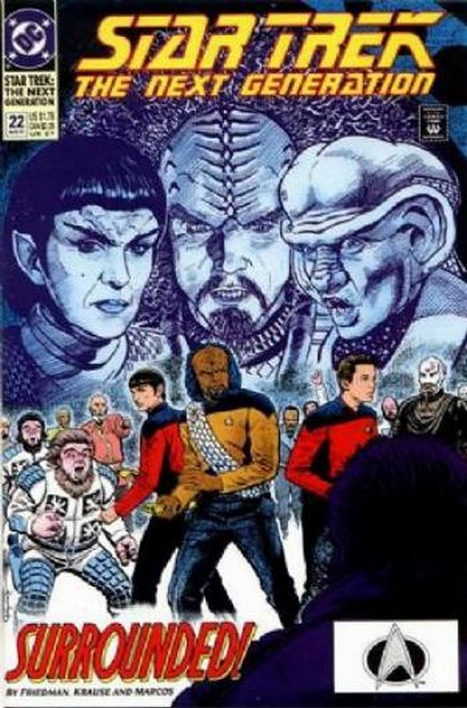 Cover of Star Trek: The Next Generation (Vol 2) #22. One of 250,000 Vintage American Comics on sale from Krypton!