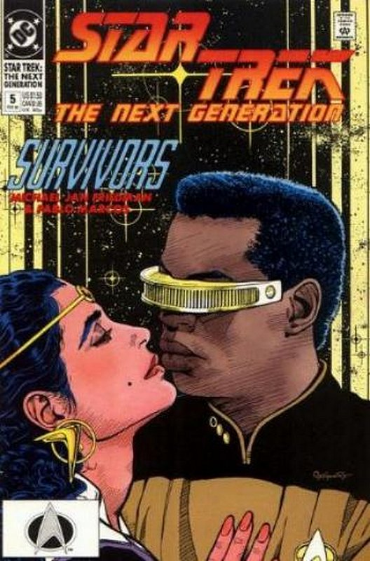 Cover of Star Trek: The Next Generation (Vol 2) #5. One of 250,000 Vintage American Comics on sale from Krypton!