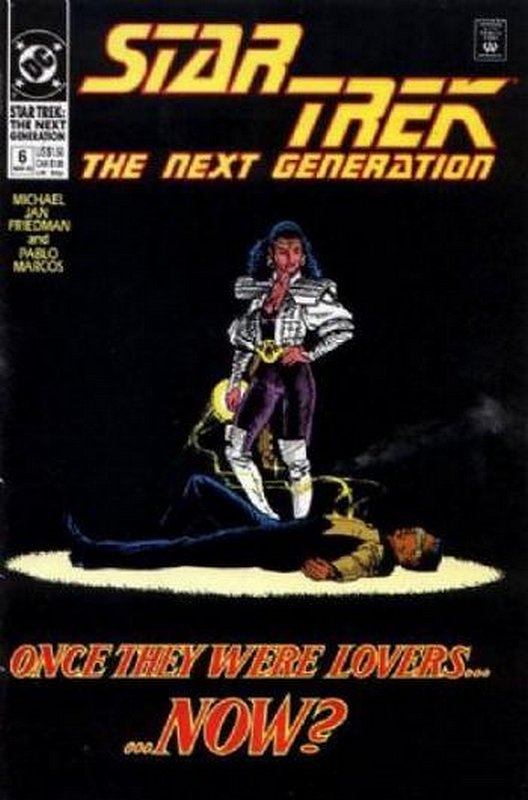 Cover of Star Trek: The Next Generation (Vol 2) #6. One of 250,000 Vintage American Comics on sale from Krypton!