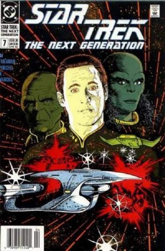 Cover of Star Trek: The Next Generation (Vol 2) #7. One of 250,000 Vintage American Comics on sale from Krypton!