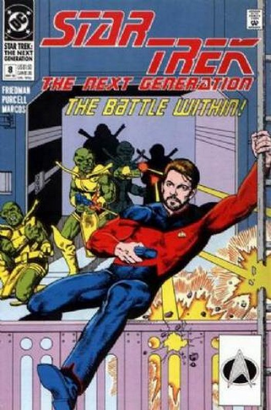 Cover of Star Trek: The Next Generation (Vol 2) #8. One of 250,000 Vintage American Comics on sale from Krypton!