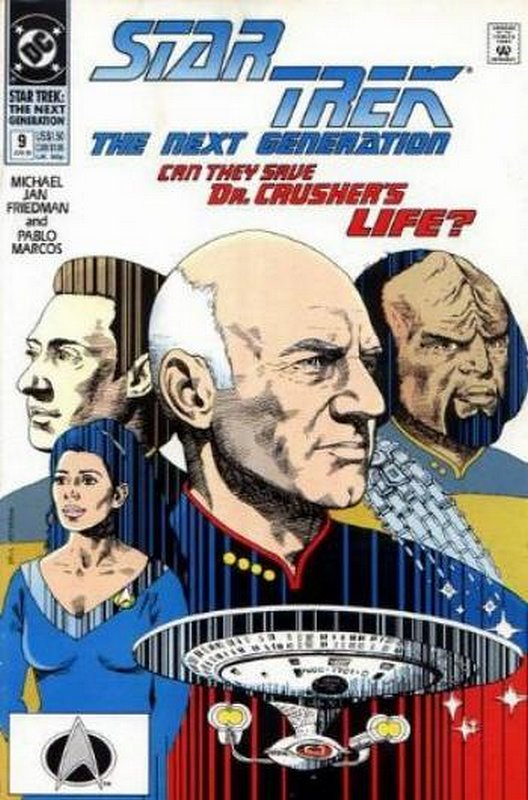 Cover of Star Trek: The Next Generation (Vol 2) #9. One of 250,000 Vintage American Comics on sale from Krypton!