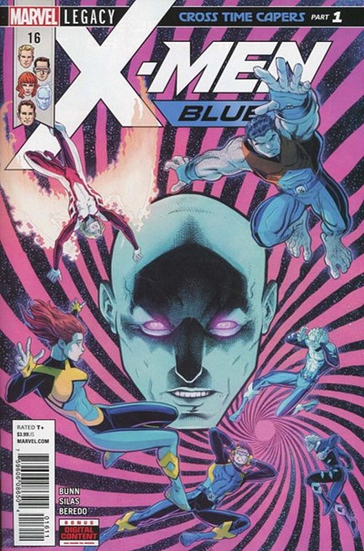 Cover of X-Men: Blue (Vol 1) #16. One of 250,000 Vintage American Comics on sale from Krypton!