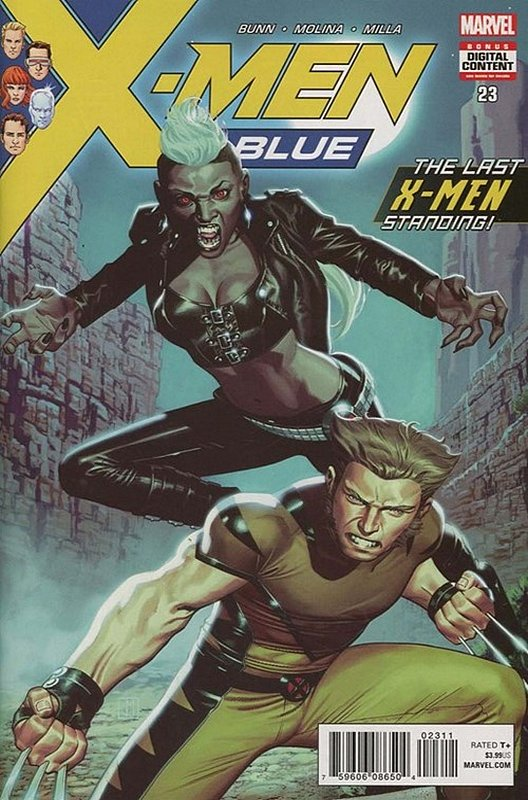 Cover of X-Men: Blue (Vol 1) #23. One of 250,000 Vintage American Comics on sale from Krypton!