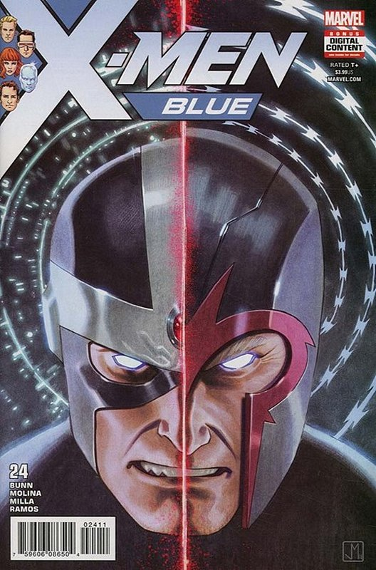 Cover of X-Men: Blue (Vol 1) #24. One of 250,000 Vintage American Comics on sale from Krypton!
