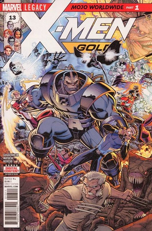 Cover of X-Men: Gold (Vol 1) #13. One of 250,000 Vintage American Comics on sale from Krypton!