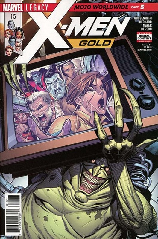 Cover of X-Men: Gold (Vol 1) #15. One of 250,000 Vintage American Comics on sale from Krypton!