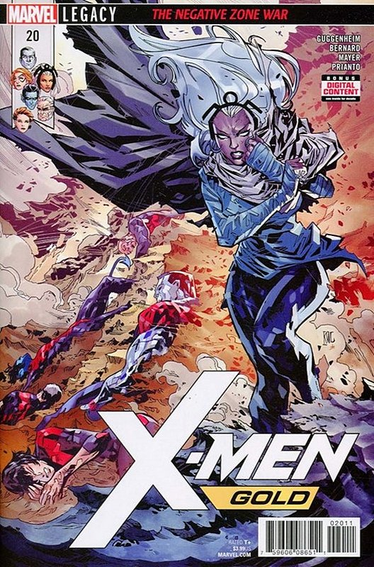 Cover of X-Men: Gold (Vol 1) #20. One of 250,000 Vintage American Comics on sale from Krypton!