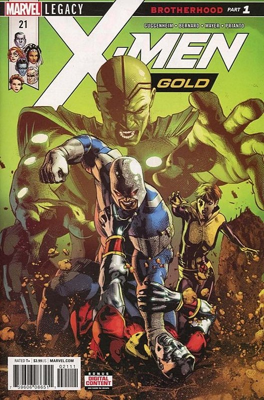 Cover of X-Men: Gold (Vol 1) #21. One of 250,000 Vintage American Comics on sale from Krypton!
