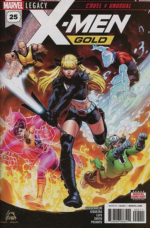 Cover of X-Men: Gold (Vol 1) #25. One of 250,000 Vintage American Comics on sale from Krypton!