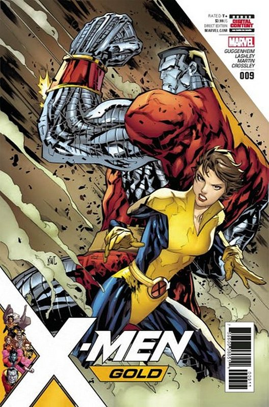 Cover of X-Men: Gold (Vol 1) #9. One of 250,000 Vintage American Comics on sale from Krypton!
