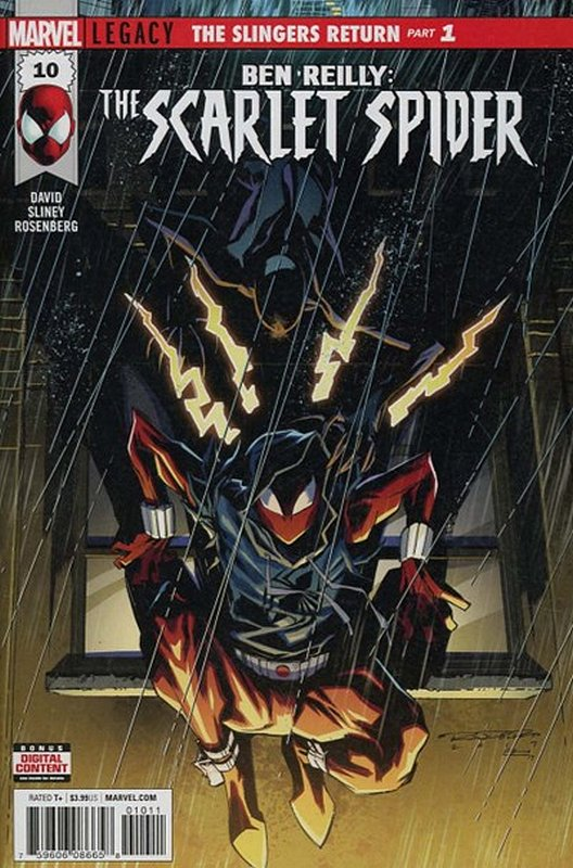 Cover of Ben Reilly Scarlet Spider (Vol 1) #10. One of 250,000 Vintage American Comics on sale from Krypton!