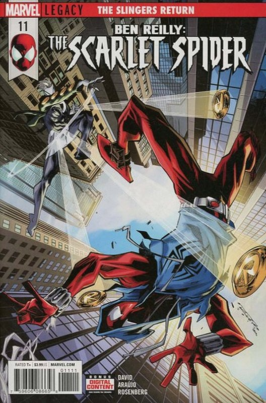 Cover of Ben Reilly Scarlet Spider (Vol 1) #11. One of 250,000 Vintage American Comics on sale from Krypton!