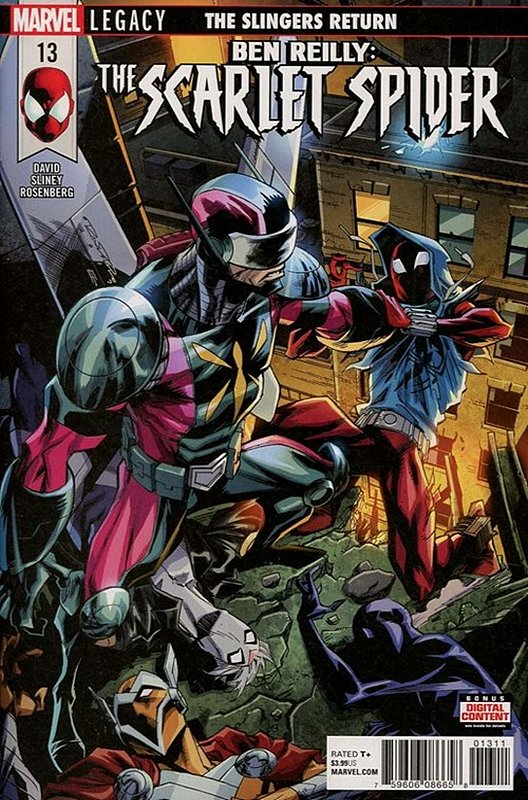 Cover of Ben Reilly Scarlet Spider (Vol 1) #13. One of 250,000 Vintage American Comics on sale from Krypton!